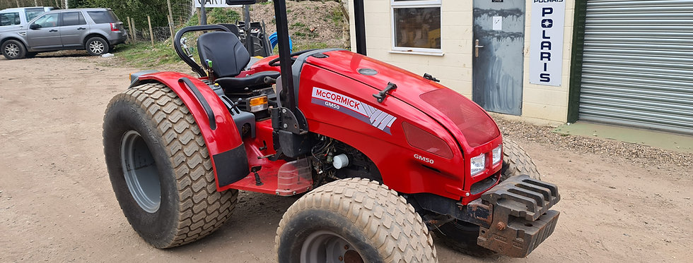 GM50 McCormick Tractor For Sale