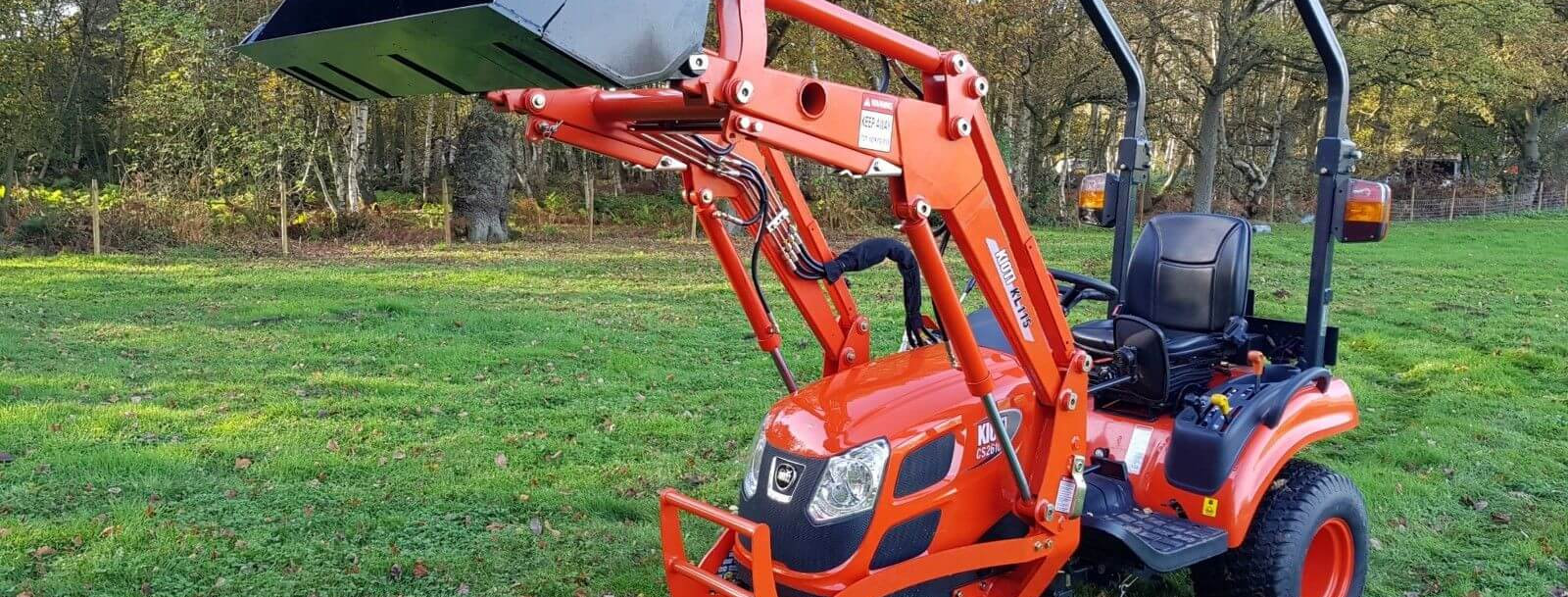 Kioti Tractor CS2610 Front Loader Tractor | Compact Tractors For Sale