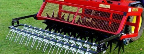 DeThatching Rake | Compact Tractor Attachments UK