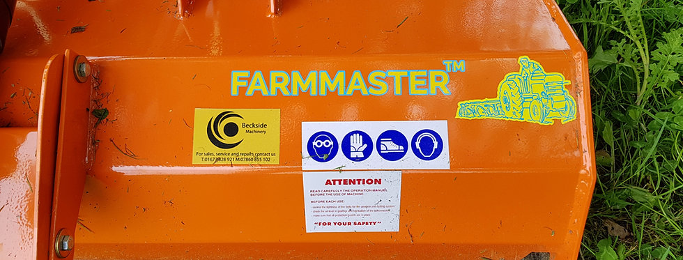 FL135H FARMMASTER 1.35m Flail Mower For Sale (With Hammers)