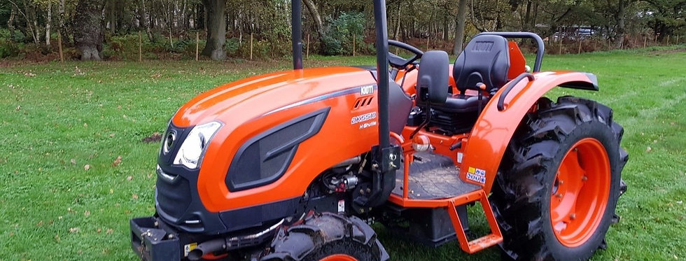 Large Kioti Tractor DK5510 4WD Hydro Shuttle | Used Compact Tractors For Sale UK