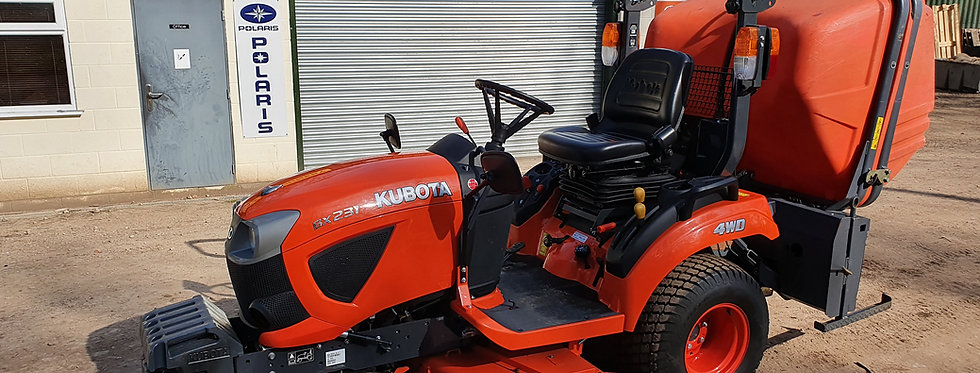 Kubota Compact Tractor BX231 23HP HST | Compact Tractors For Sale UK
