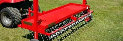 Heavy Duty Scarifying Rake | Compact Tractor Attachments UK