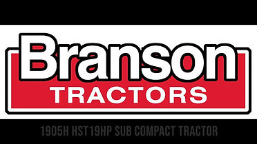 Branson Tractors 1905H Walkthrough