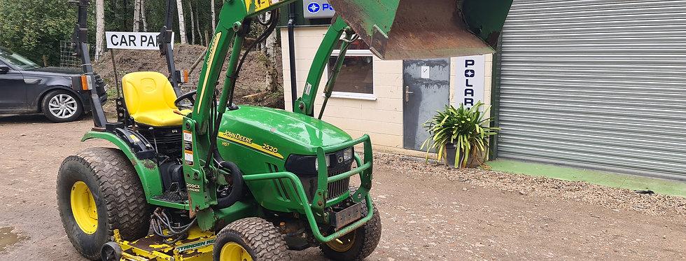 John Deere 2520 Loader Tractor For Sale