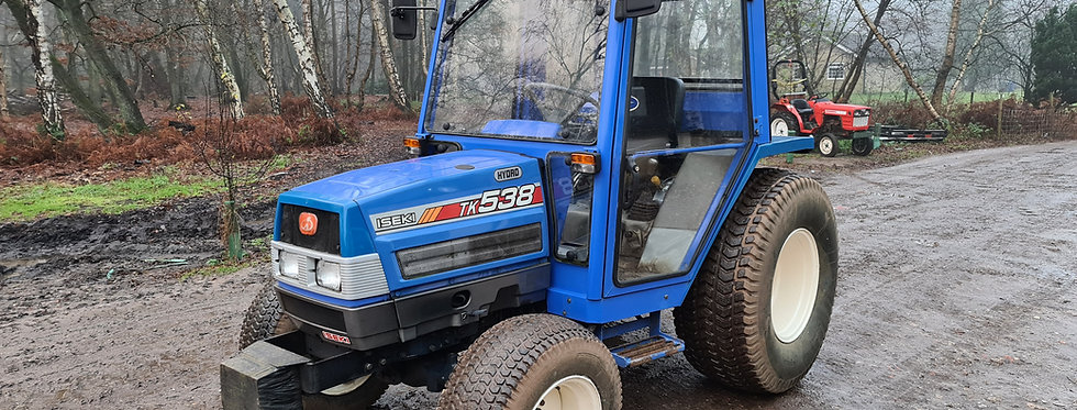 Iseki  Compact Tractor TK538 With Heated Cab