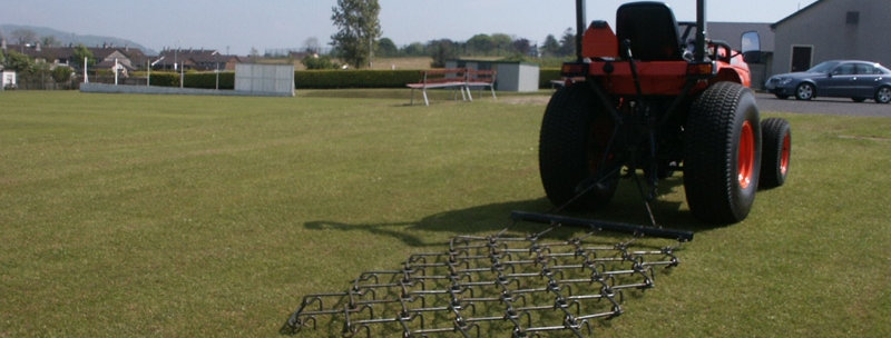 Fleming Trailed Grass Harrow GH10