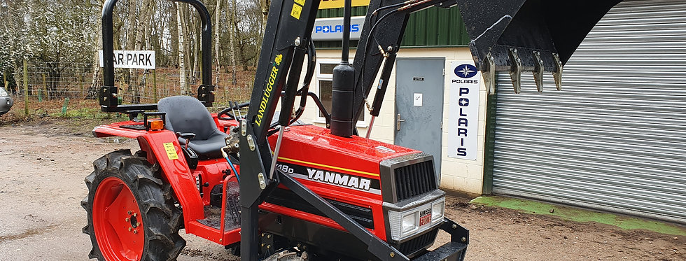 Yanmar Compact Tractor FX18D 4WD with Front Loader