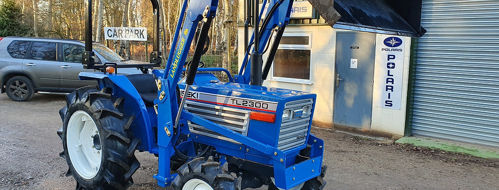 Iseki Compact Tractor TL2300 4WD with Front Loader