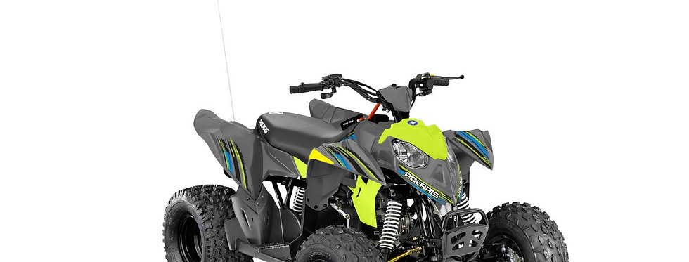 Polaris Outlaw 110 EFI Kids Quad Bike In Lime