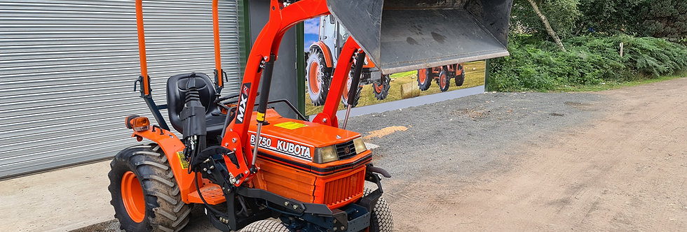 Kubota Compact Tractor B1750 HST MX C2 Front Loader