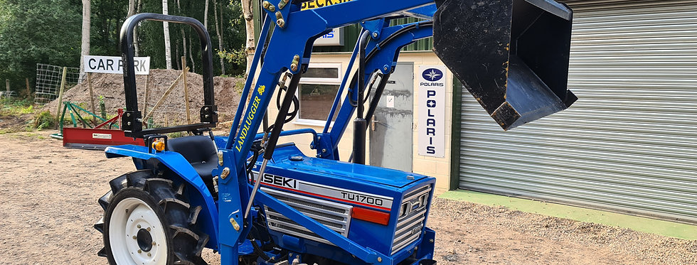 Iseki Compact Tractor TU1700 4WD with Front Loader BUCKET