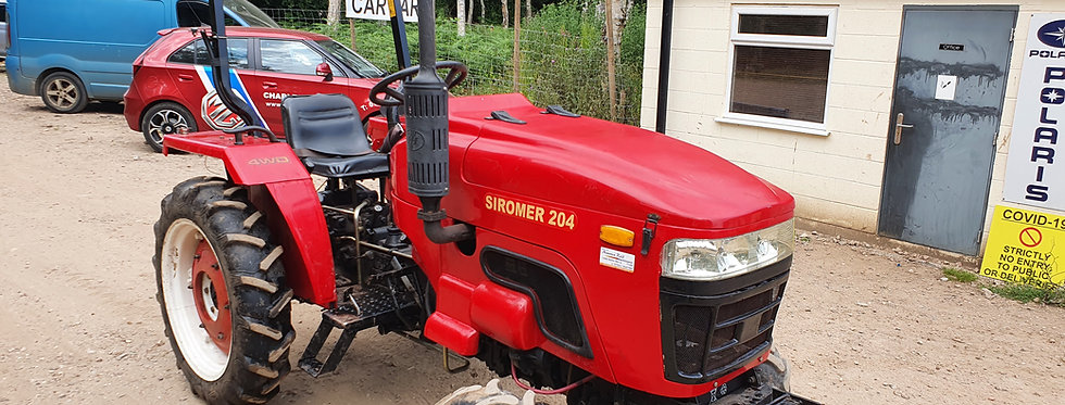 20 HP Siromer 204 used compact tractor