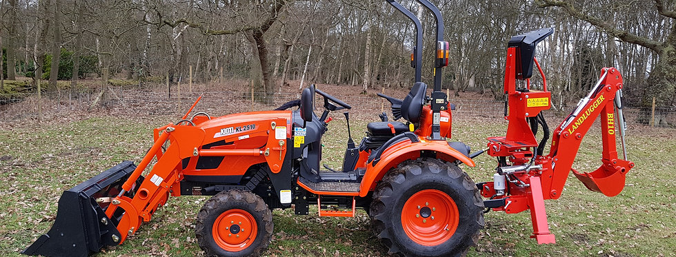 Kioti Tractor CK2810 HST Loader Digger | Compact Tractors For Sale UK