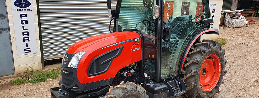 Kioti Tractor UK DK6010 | Compact Tractors For Sale