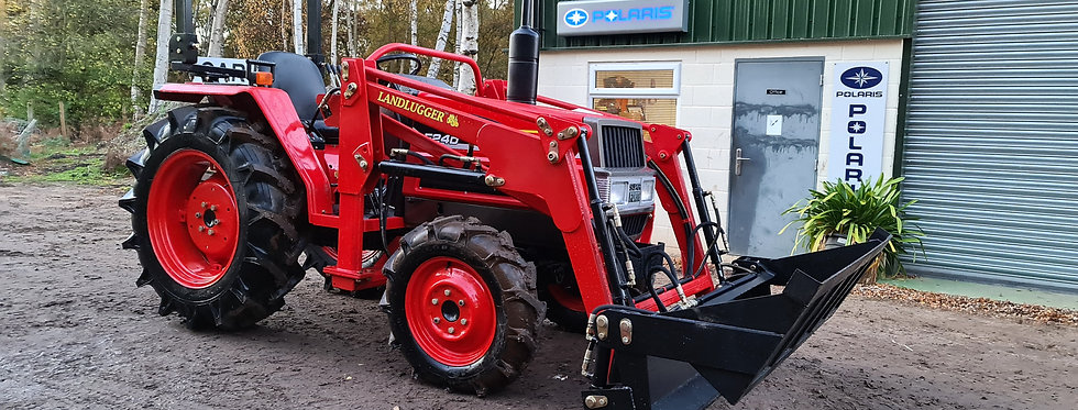 Yanmar Compact Tractor F24D 4WD with 4 in 1 Front Loader