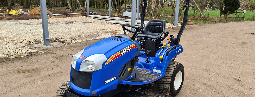 Iseki Compact Tractor TX237 with 54 inch Middeck Mower