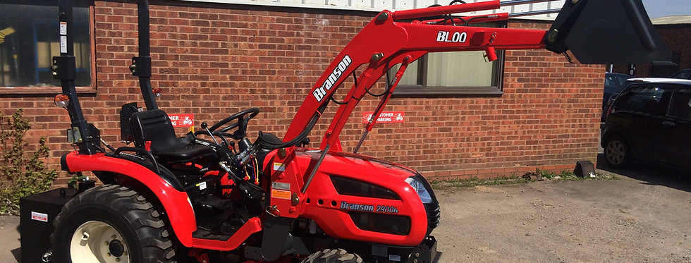 3100 1.5M Rear Discharge Mid Mower for Branson Tractors UK