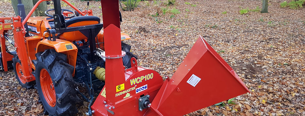 PTO Wood Chipper For Compact Tractor