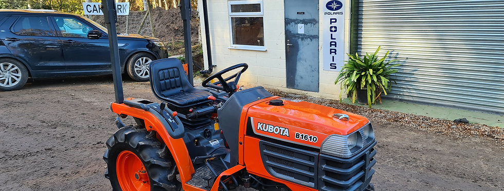 Kubota Compact Tractor B1610D | Compact Tractors For Sale UK