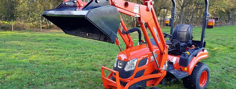 Kioti Tractor CS2510 Front Loader Tractor | Compact Tractors For Sale UK