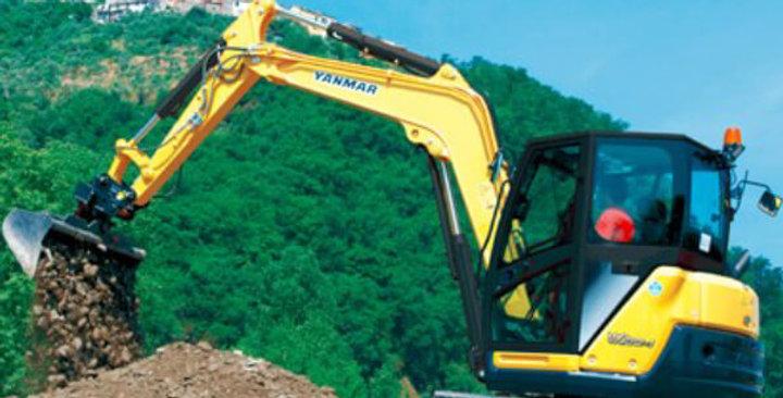 ViO80 Yanmar Midi Excavators