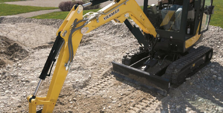 SV18 Series Yanmar Mini Excavators