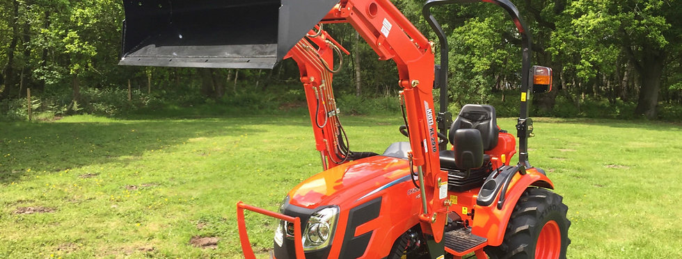 Kioti Tractor CK2810 Hydrostatic & Front Loader | Compact Tractors For Sale UK