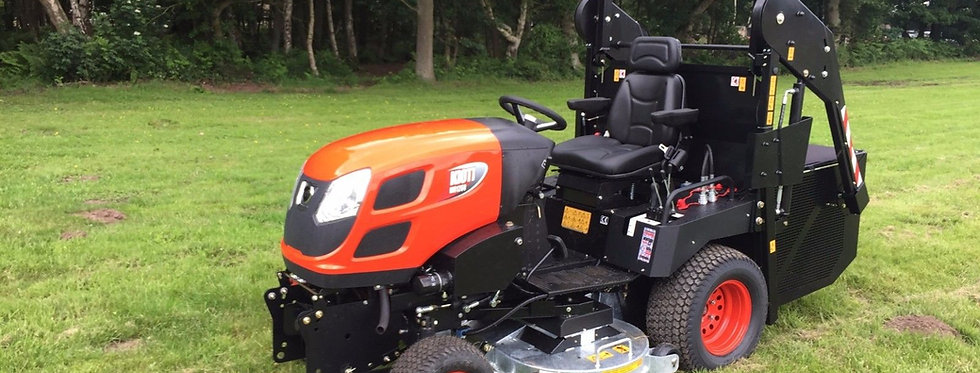 Kioti Tractor WD1260 Professional High Tip Mower | Compact Tractors For Sale UK