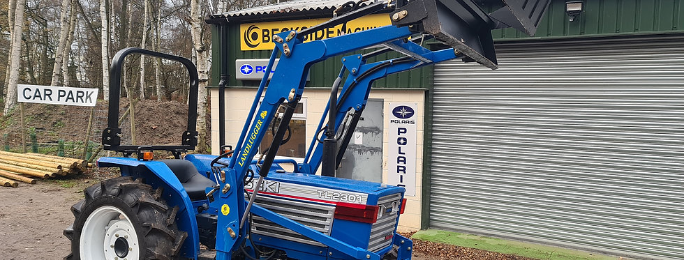 Iseki Compact 2301 4 in 1 Loader Tractor For Sale