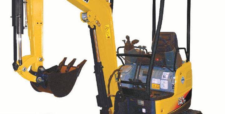 ViO17 Series Yanmar Mini Excavator