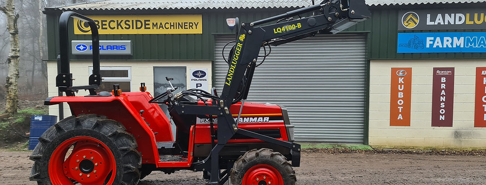 Yanmar Compact Tractor FX26DT 4WD with Front Loader
