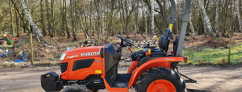Kubota Compact Tractor B1820D | Compact Tractors For Sale UK