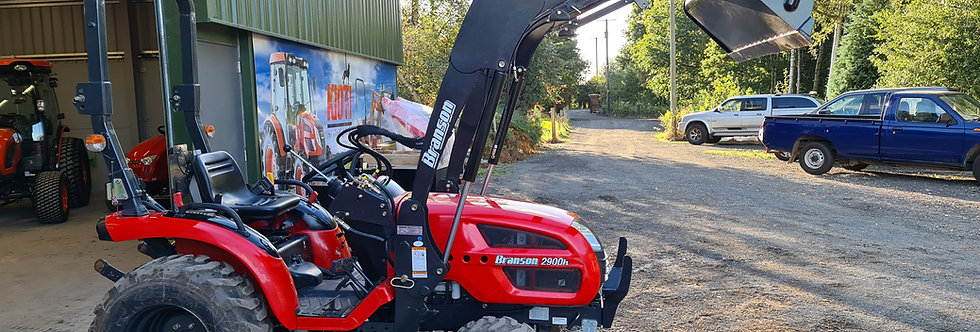 Branson Compact Tractor For Sale 2900H + Tractor Loader & Tractor Mower