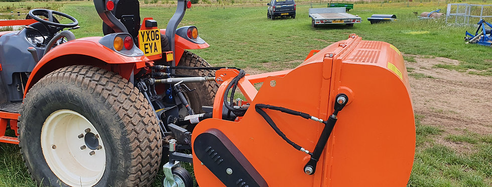 FCL-120 FARMMASTER  Flail Collector