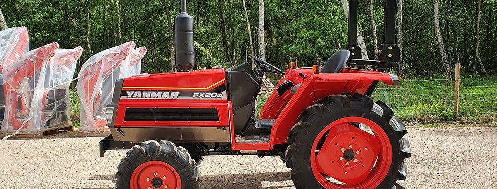 Yanmar Compact Tractor FX20D 4WD