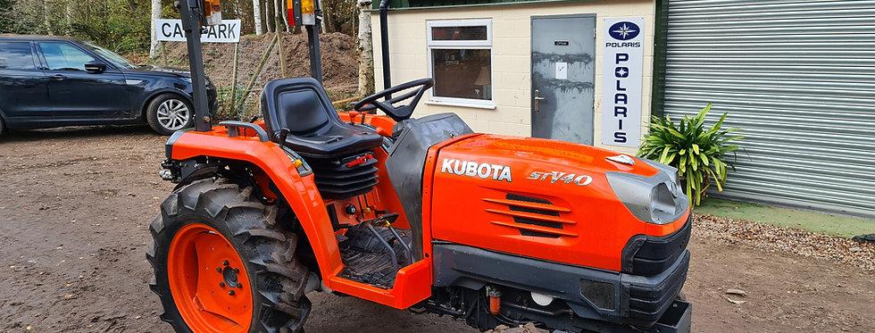 Kubota Compact Tractor STV40 HST 40HP