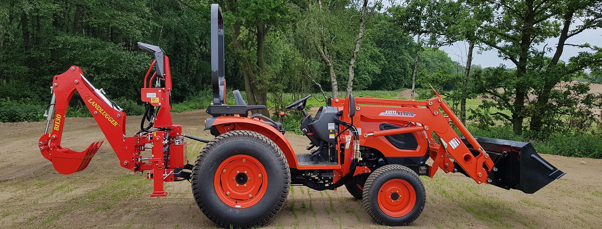 Kioti Tractor CK4010 Loader & Digger   Compact Tractors For Sale UK