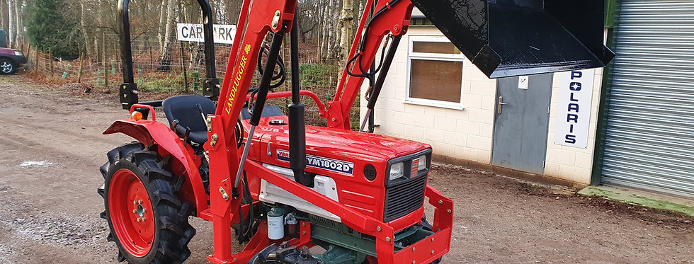 Yanmar Compact Tractor YM1802 4WD with Front Loader