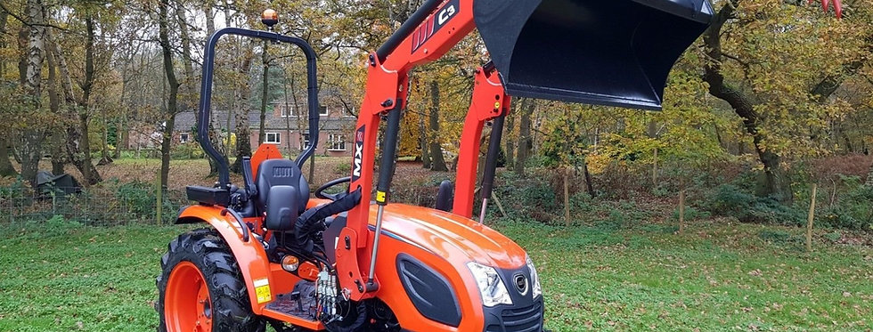 Kioti Tractor CK4010 Front Loader Tractor + Mower | Compact Tractors For Sale UK