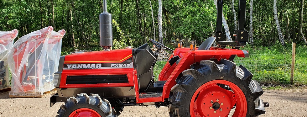 Yanmar Compact Tractor FX24D 4WD