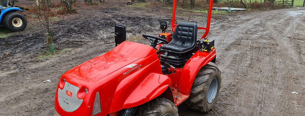 McCormick Compact Tractor G25  HST | Compact Tractors For Sale UK