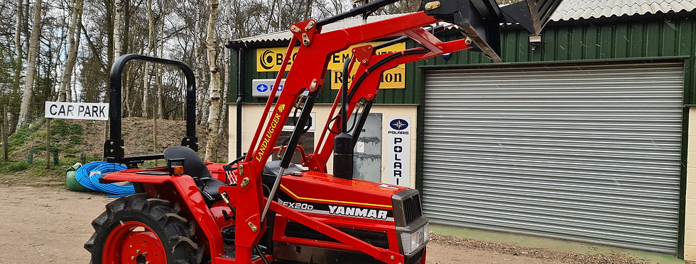 Yanmar Compact Tractor FX20DT 4WD with Front Loader