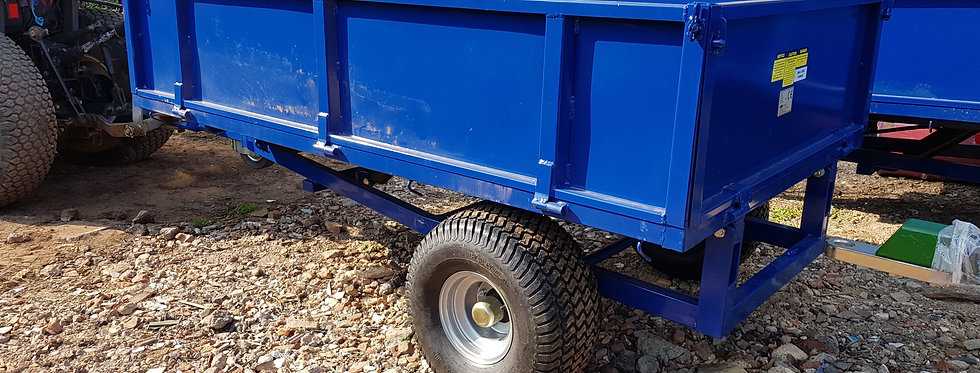 Compact Tractor Tipping Trailer For Sale | Model TP1