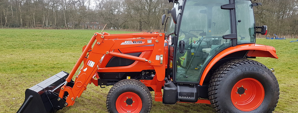 Kioti Tractor RX6020 with Loader | Compact Tractors For Sale UK