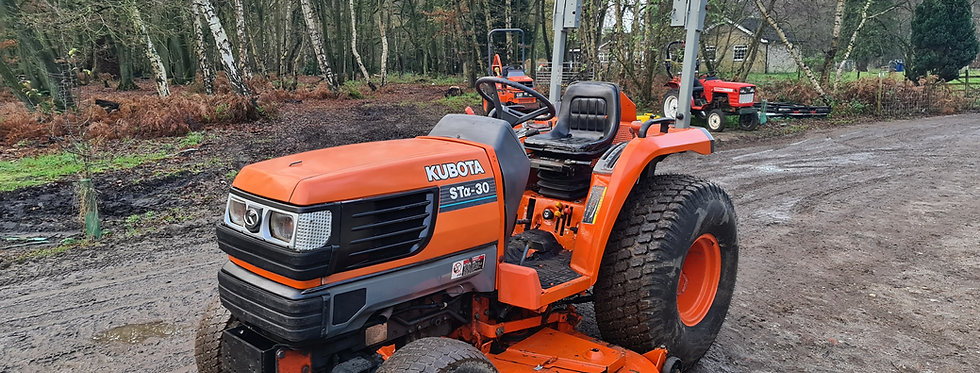 Kubota Compact Tractor STA30 30HP HST | Compact Tractors For Sale UK