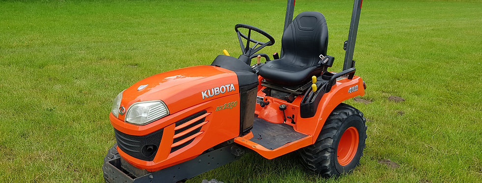 Kubota Compact Tractor BX2350 HST  Tractor On Industrial Tyres