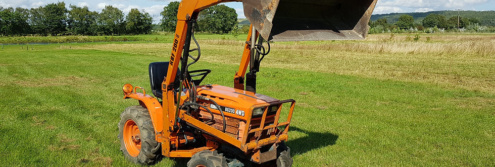 B6200D Kubota Compact Tractor With Loader | Tractor With Loader For Sale UK