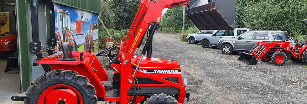 Yanmar Compact Tractor FX20 4WD with Front Loader