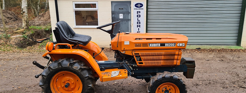 B6200D Kubota Compact Tractor | Compact Tractors For Sale UK
